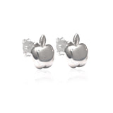La Luna Rose Jewellery - Apple of My Eye Earrings - Silver