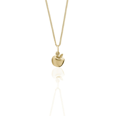 La Luna Rose Jewellery - Apple of My Eye Charm Necklace - Gold