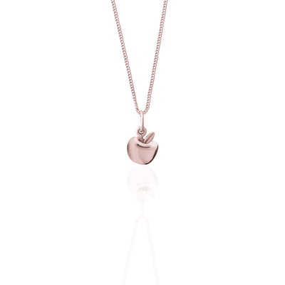 La Luna Rose Jewellery - Apple of My Eye Charm - Rose Gold