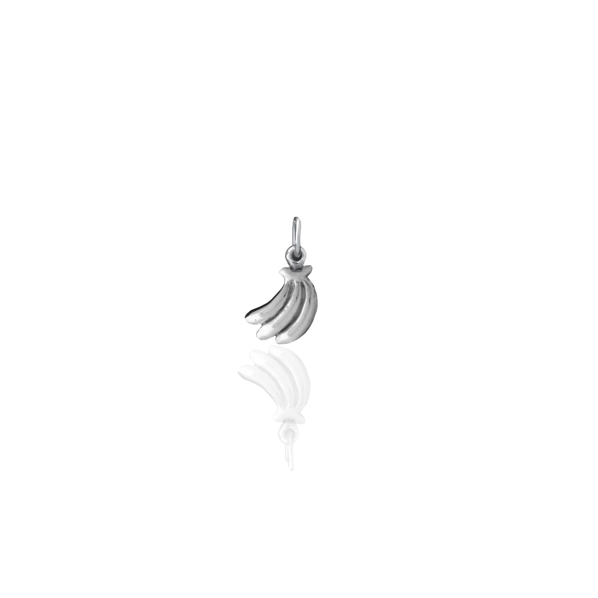 You drive me Bananas Charm (Silver)