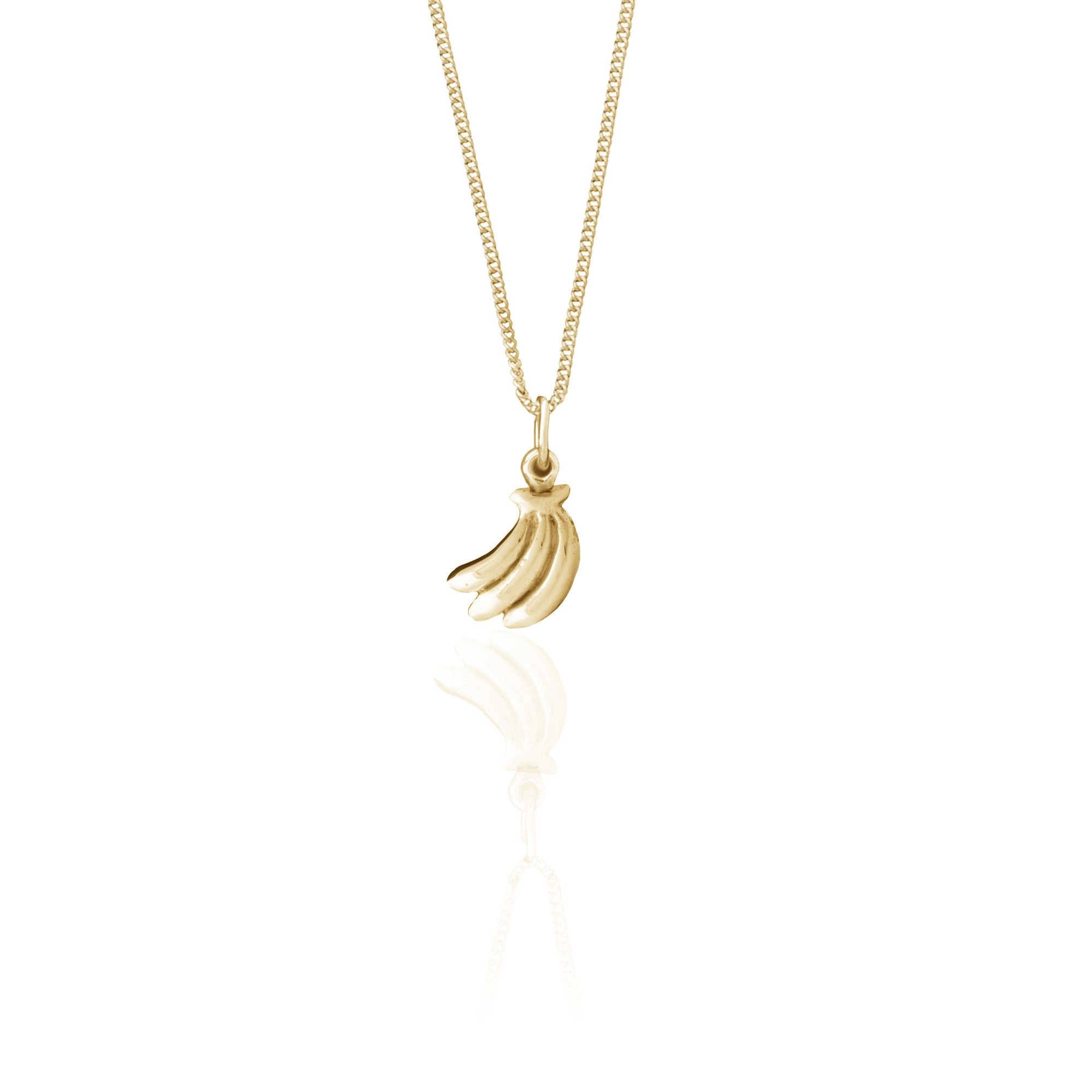 You drive me Bananas Necklace (Gold)