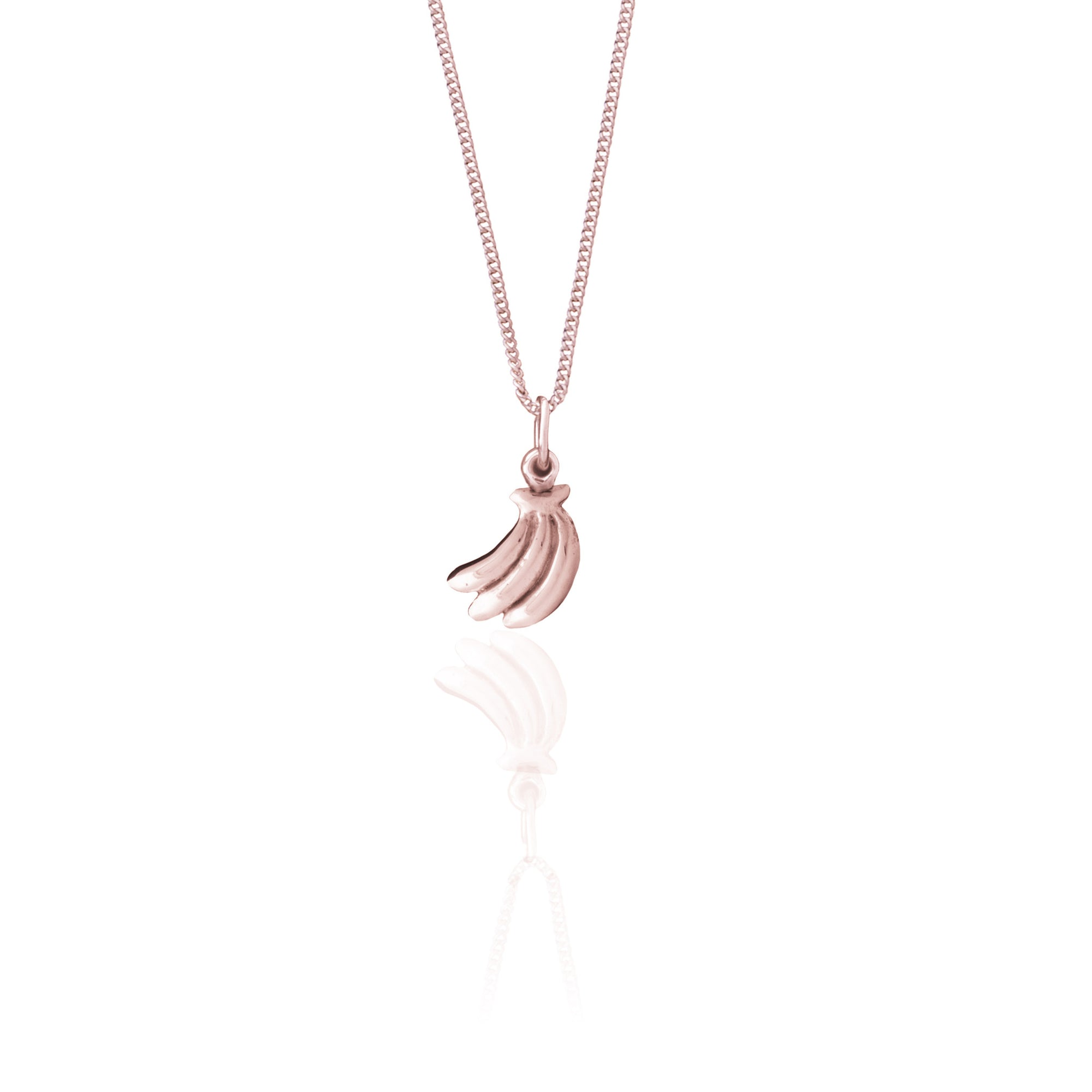 La Luna Rose Jewellery - You Drive me Bananas Charm - Rose Gold
