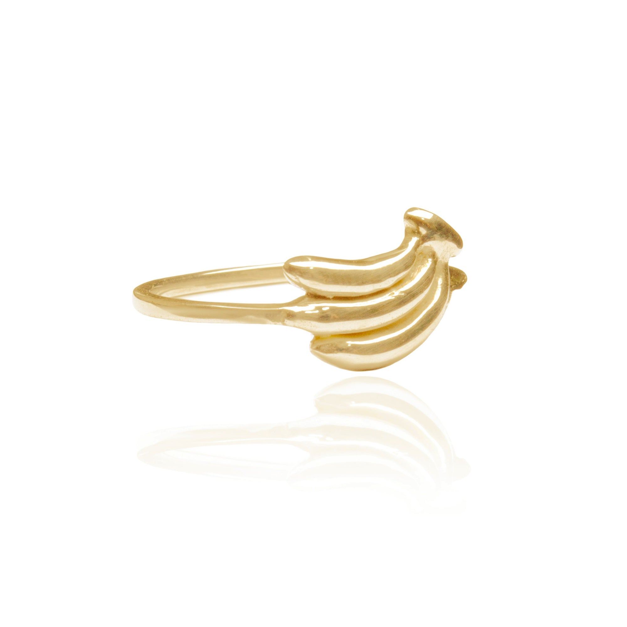 La Luna Rose Jewellery - You Drive me Bananas Ring - Gold