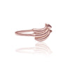 La Luna Rose Jewellery - You Drive me Bananas Ring - Rose Gold