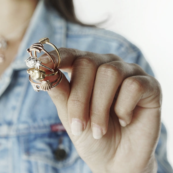 La Luna Rose Jewellery - Apple of My Eye Ring - Rose Gold