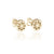Orange you Cute Earrings (Gold)