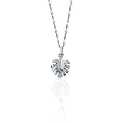 La Luna Rose Jewelry - Never Leaf Me Necklace - Silver