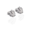 La Luna Rose Jewellery - Never Leaf Me Earrings - Silver