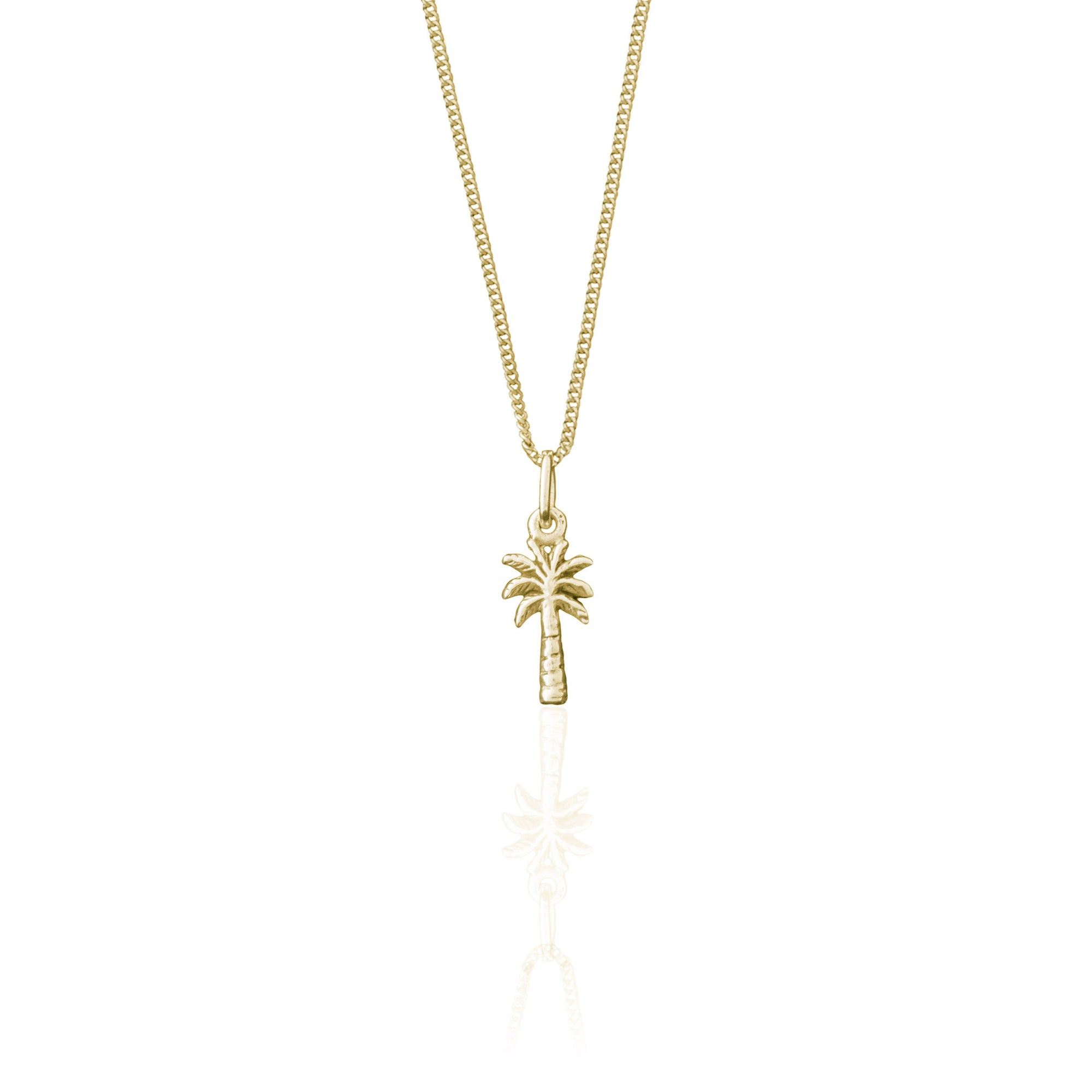 La Luna Rose Palm Springs Charm Necklace - Gold