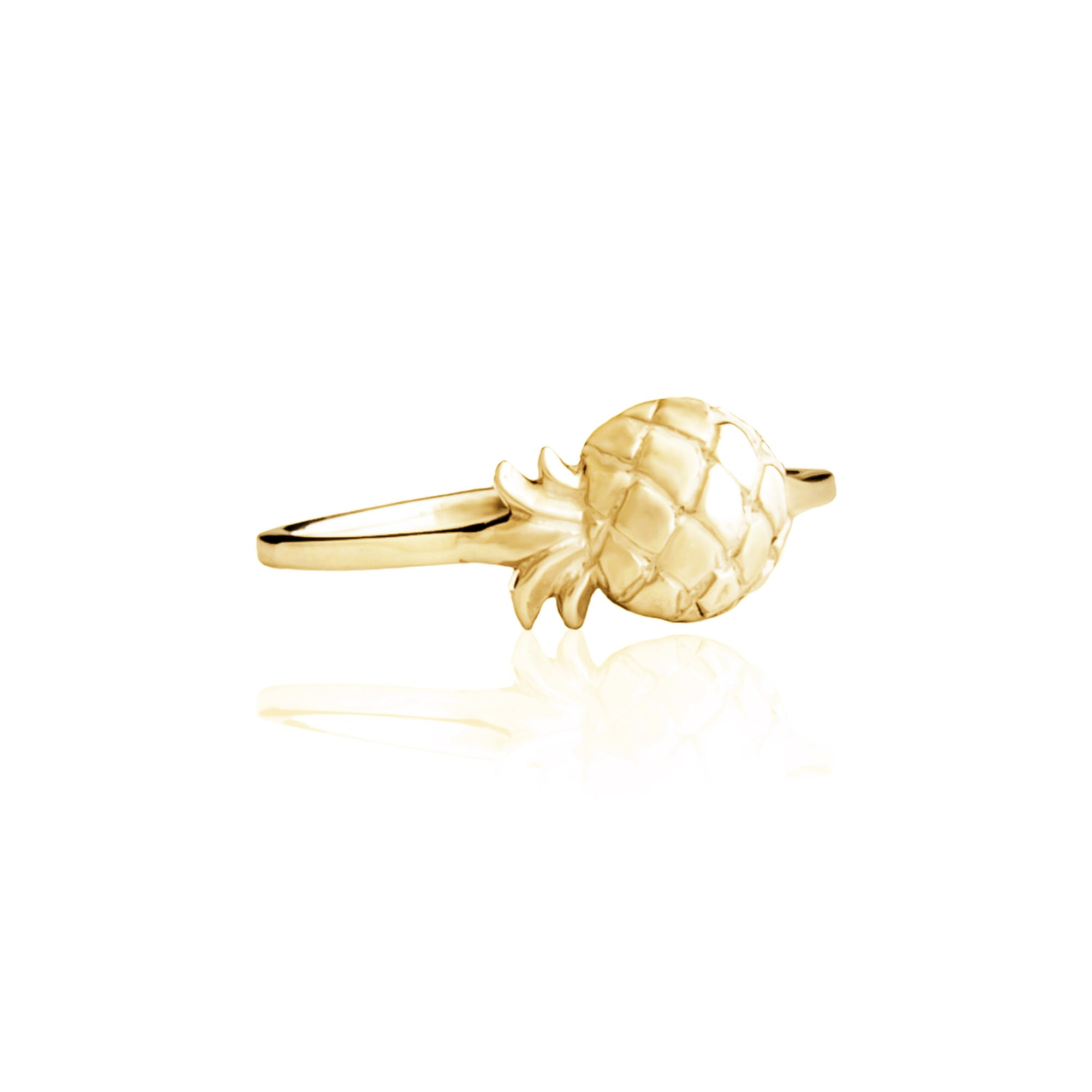 La Luna Rose Jewellery - Pineapple Ring Gold