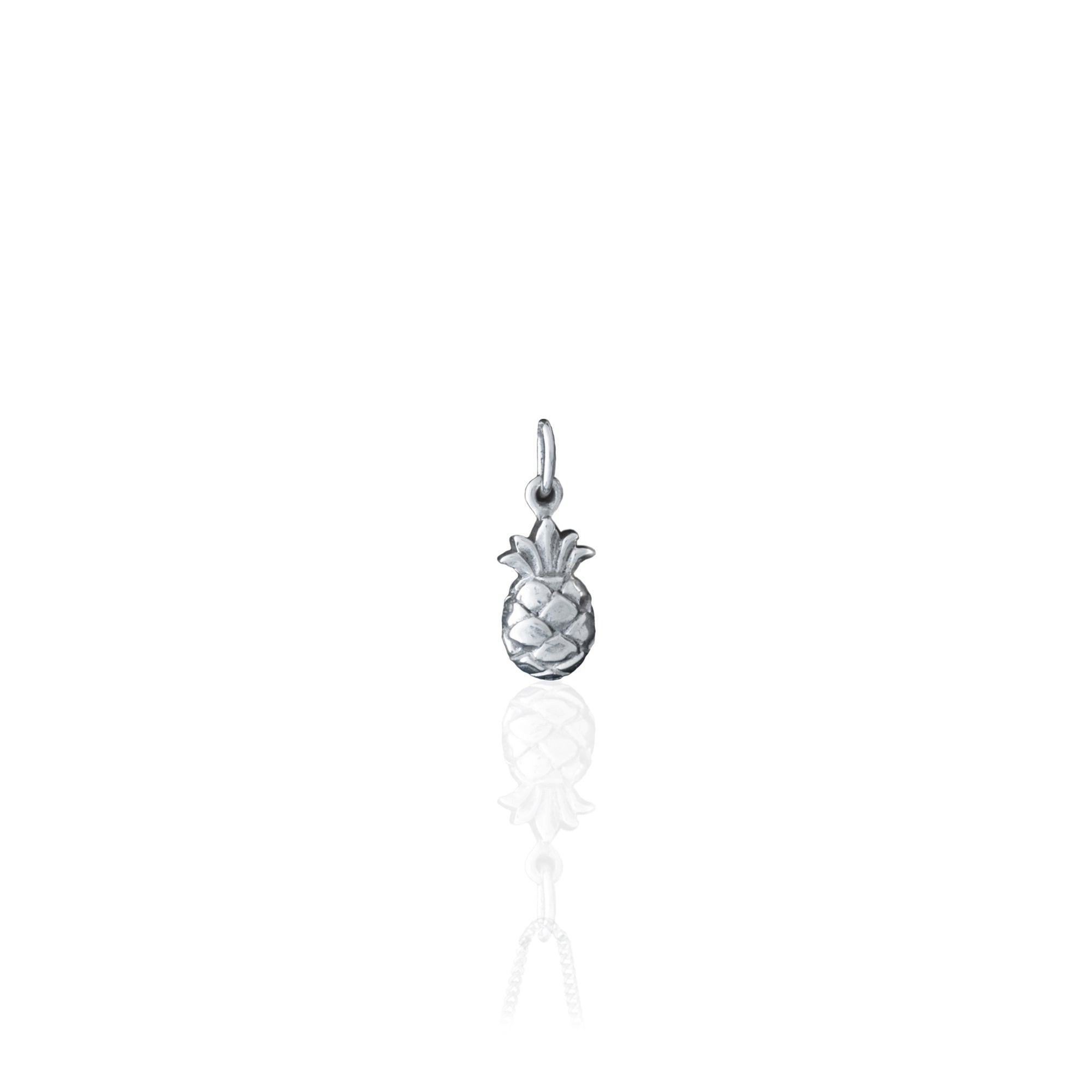 Luna & Rose - Pineapple Charm Silver