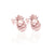 You're a Fine-Apple Earrings (Rose Gold)
