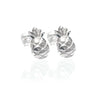 La Luna Rose Jewellery - Pineapple Earrings Silver