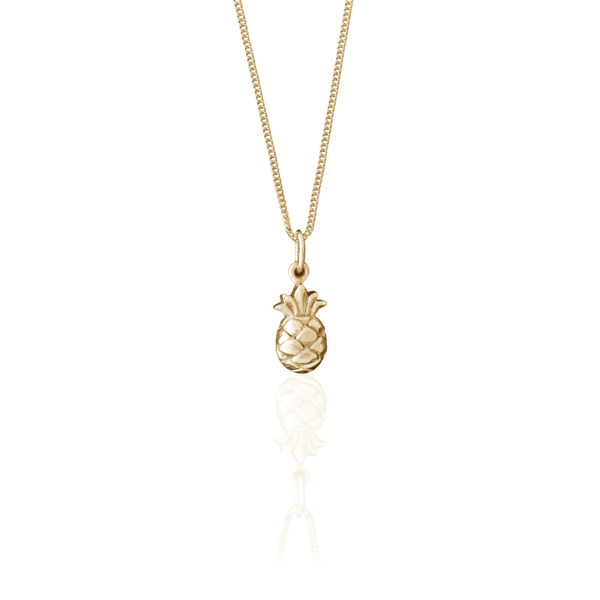 You're a Fine-Apple Necklace (Gold)