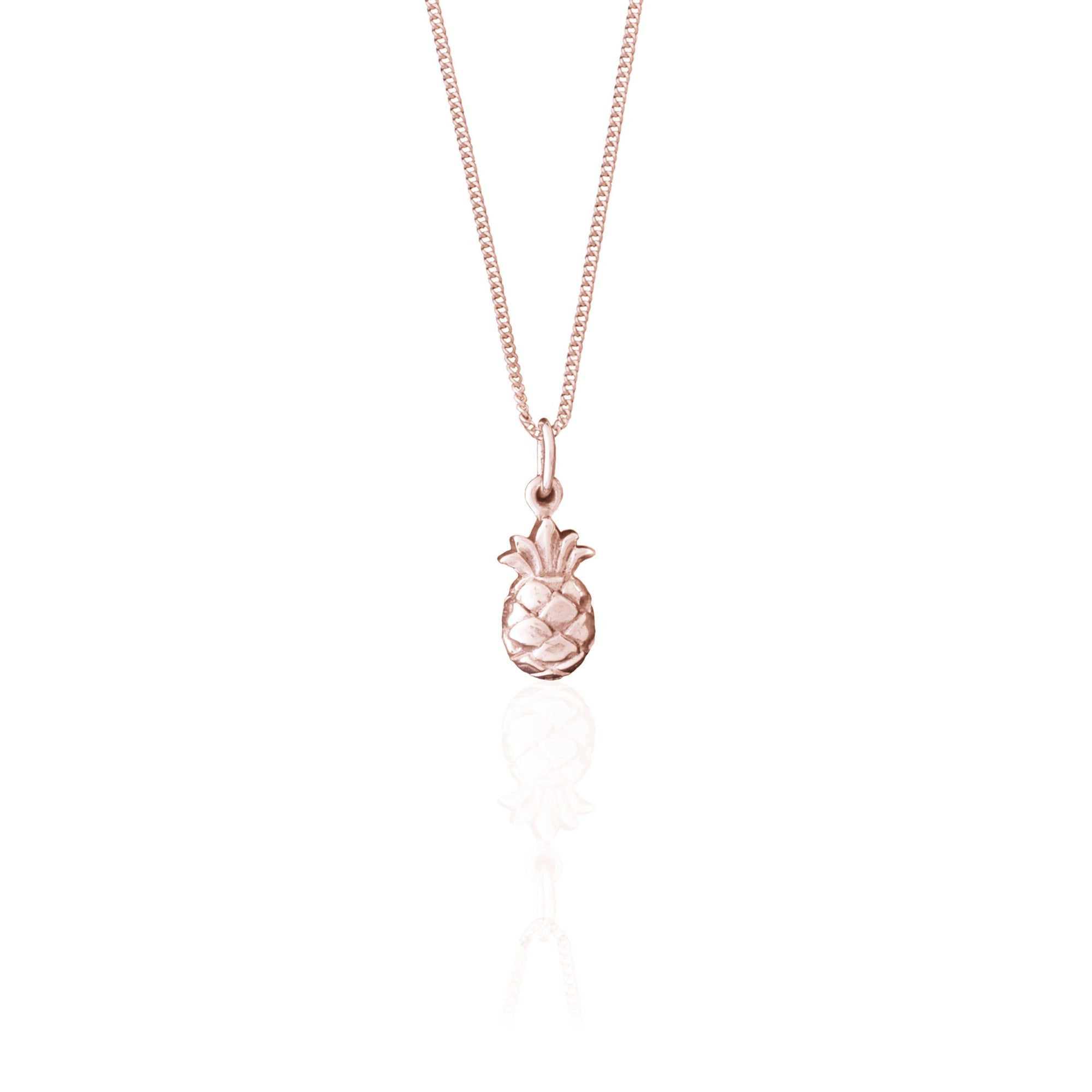 bonas jewellery silver necklace pina pineapple oliver