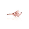 La Luna Rose Jewellery - Pineapple Ring Rose Gold