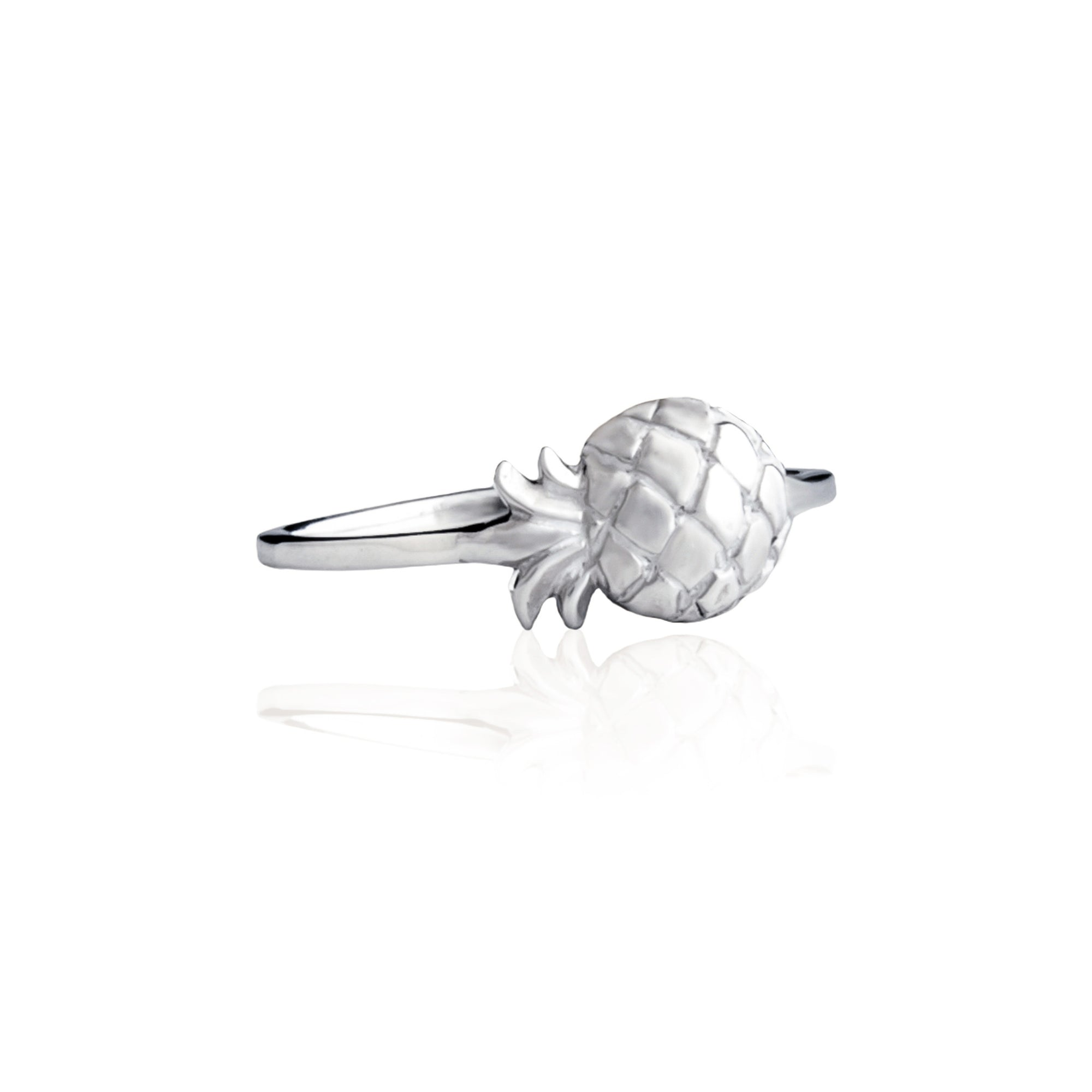 Luna & Rose - Pineapple Ring Silver