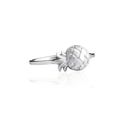 La Luna Rose Jewellery - Pineapple Ring Silver