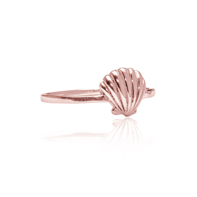 La Luna Rose Jewellery - Rose Gold Shell Ring