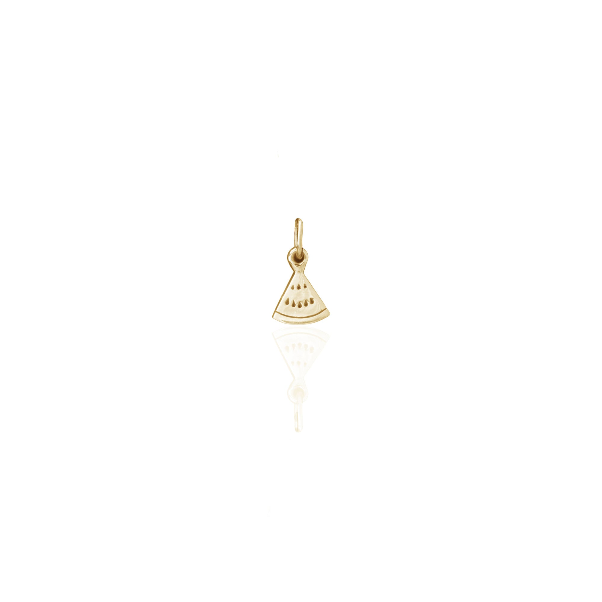 One in a Melon Charm (Gold)