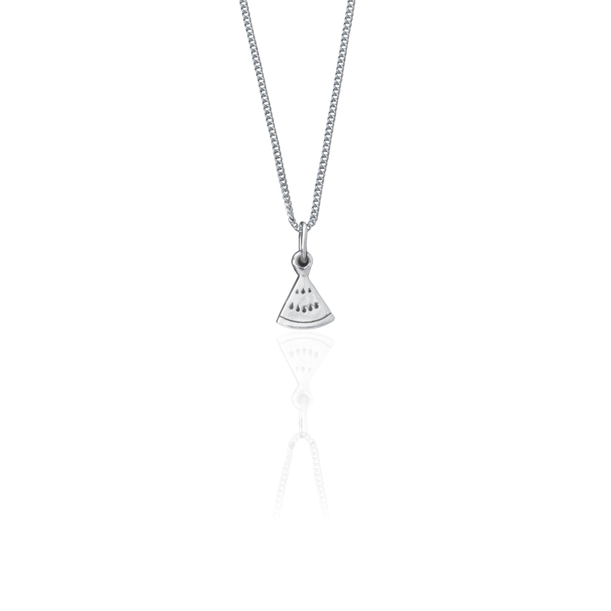 One in a Melon Necklace (Silver)