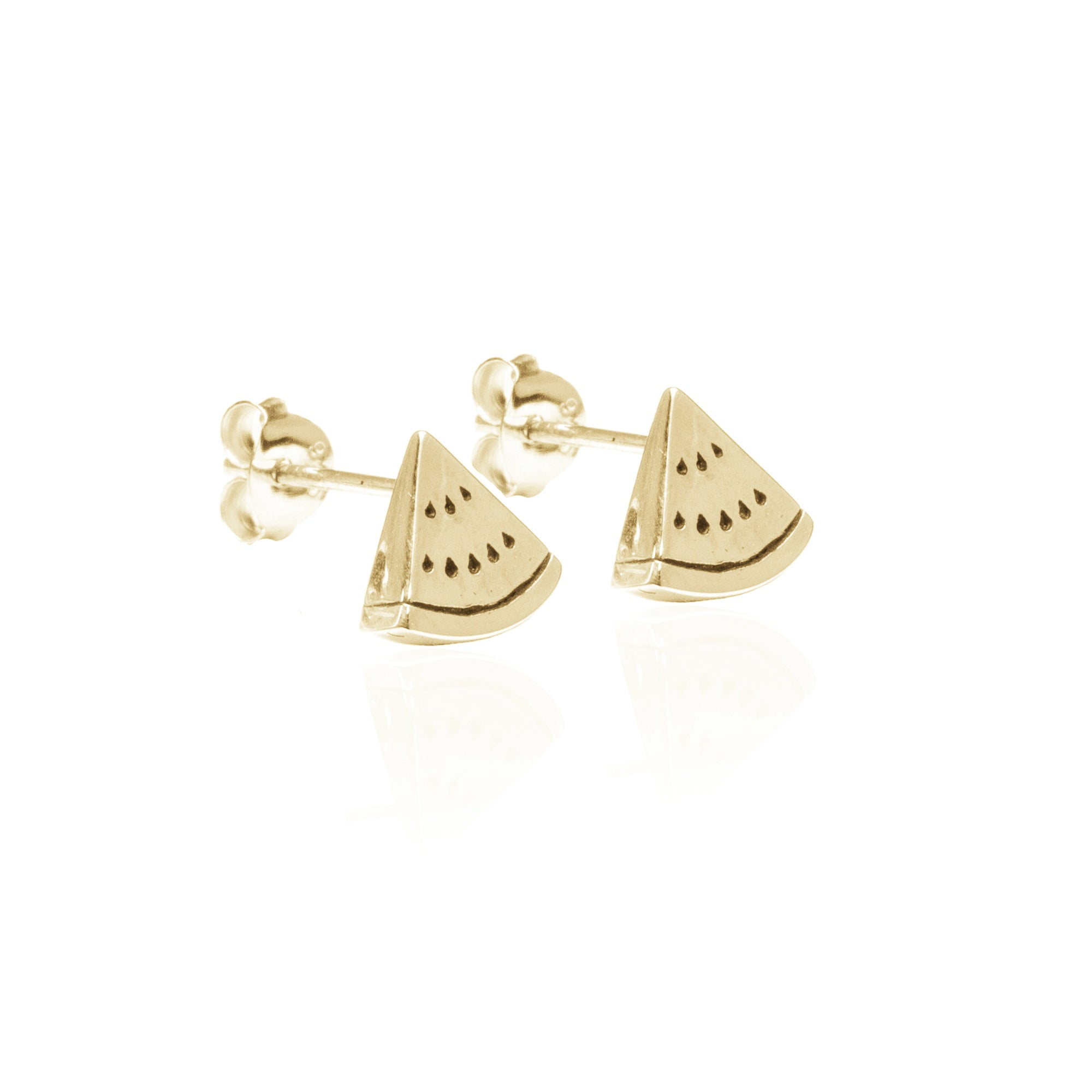 One in a Melon Earrings (Gold)