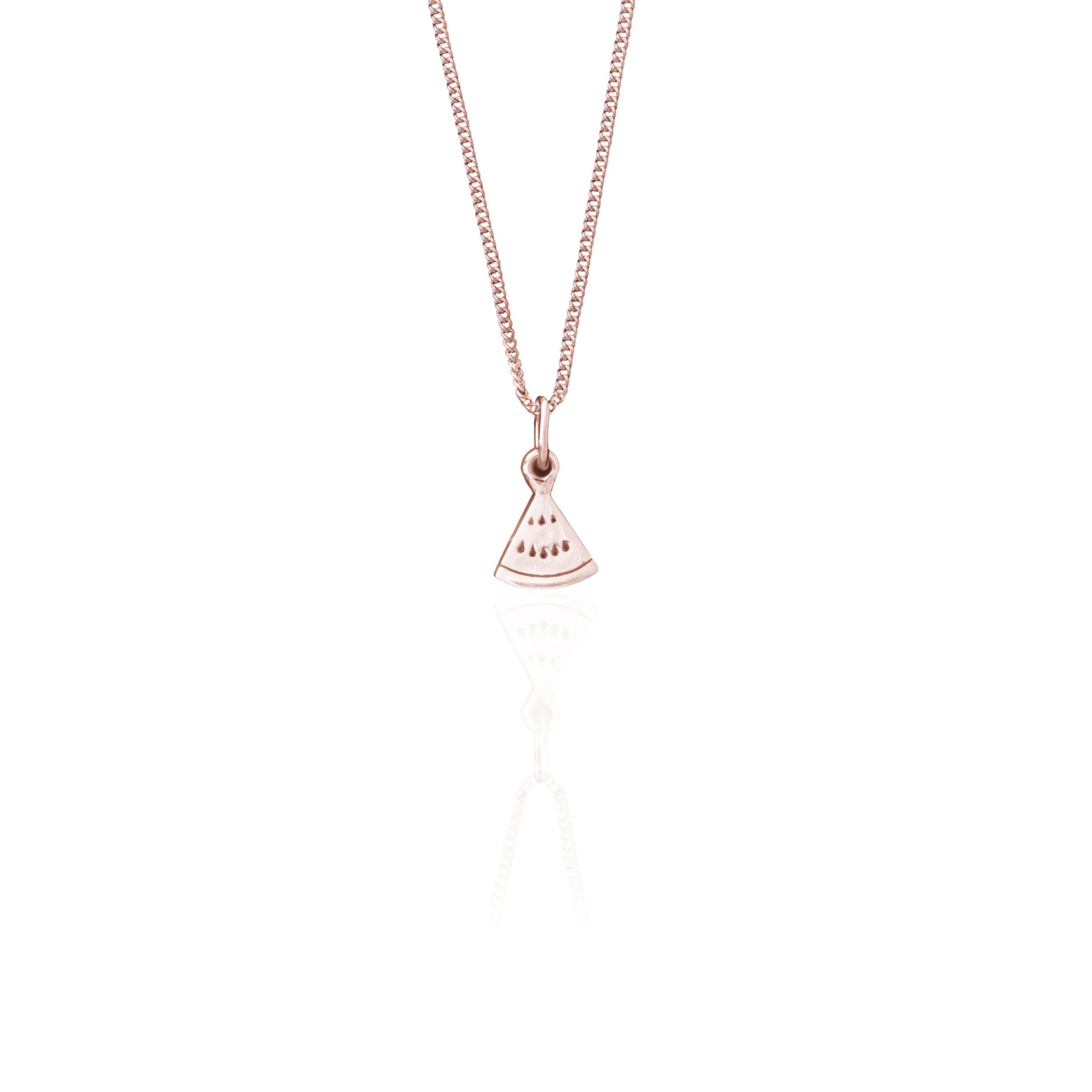 La Luna Rose Jewellery - watermelon Charm Necklace