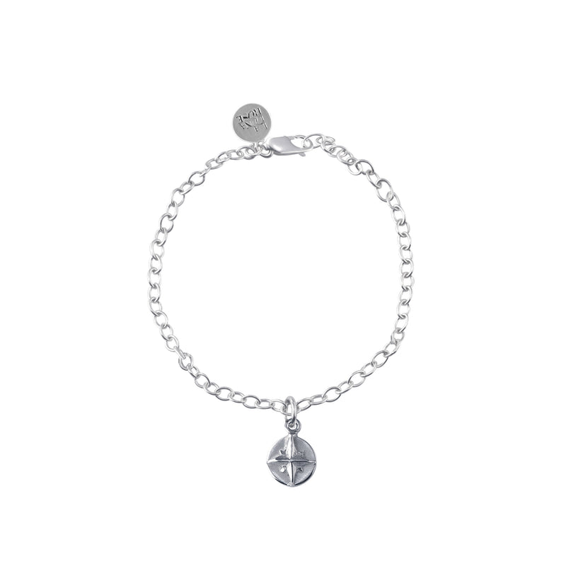 Born to roam Bracelet (Silver)