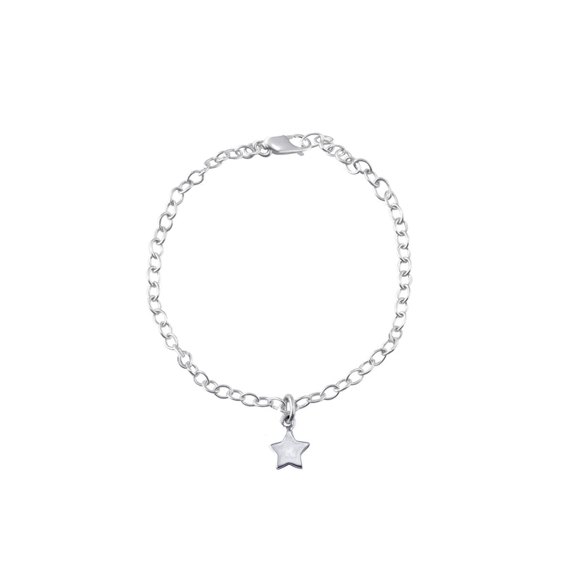 Wish Upon a Star Bracelet (Silver)