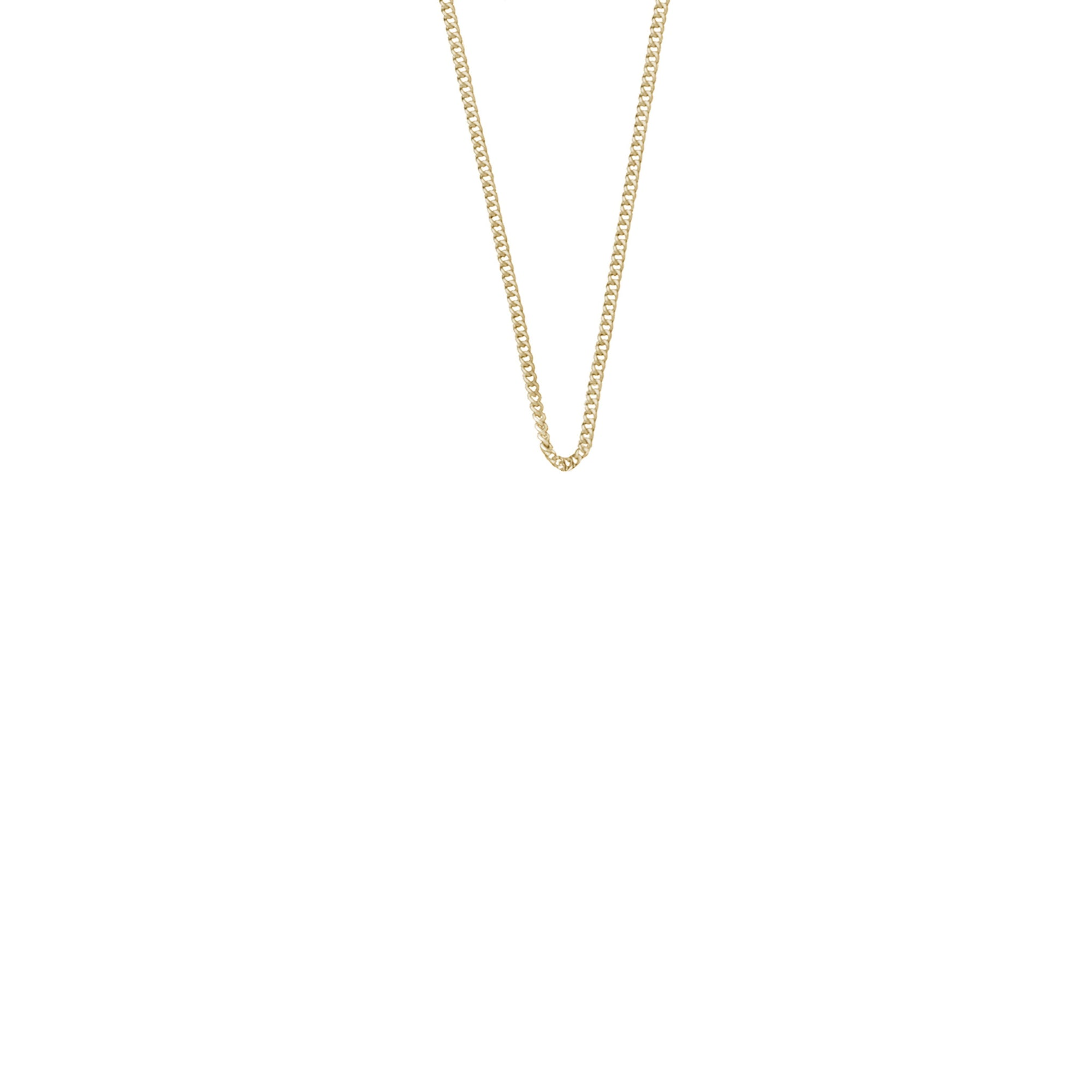 La Luna Rose - Simple Yellow Gold Chain