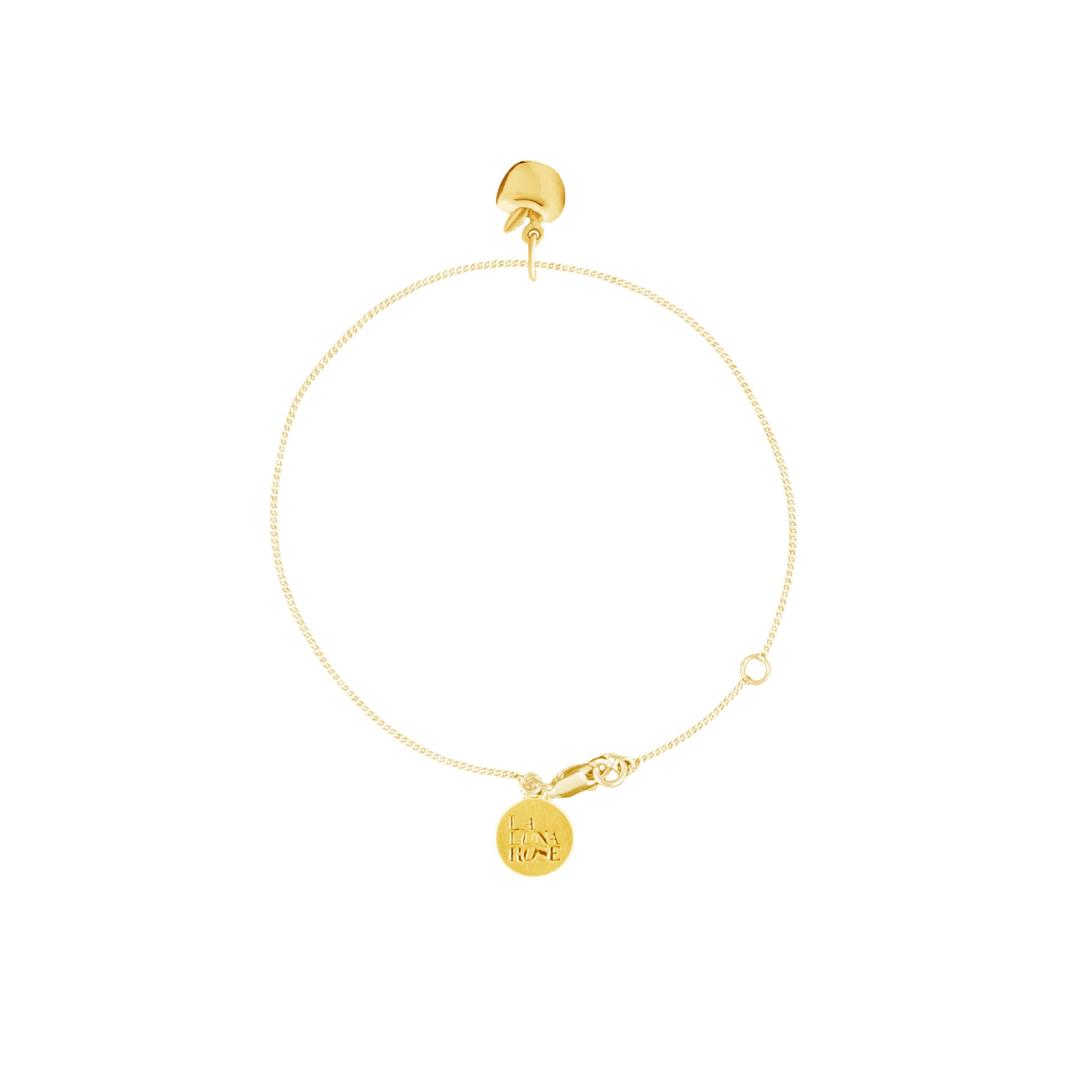 Luna & Rose - Apple of My Eye Bracelet Gold