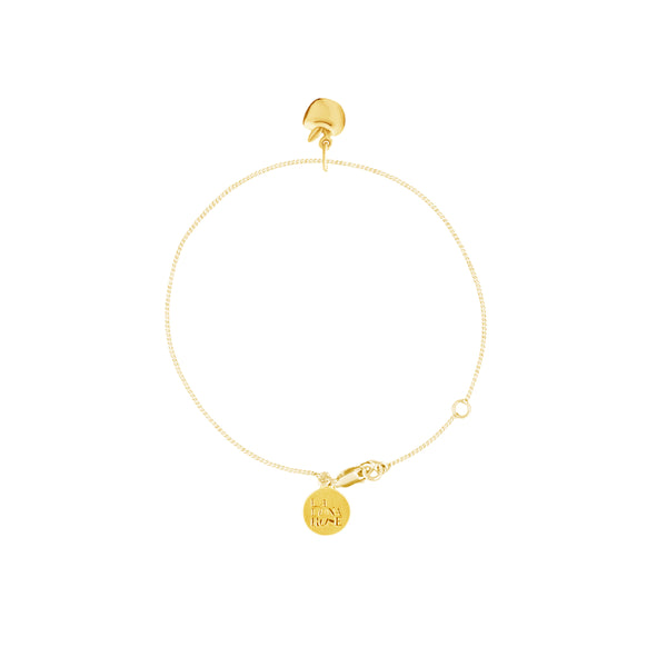 La Luna Rose Jewellery - Apple of My Eye Bracelet Gold
