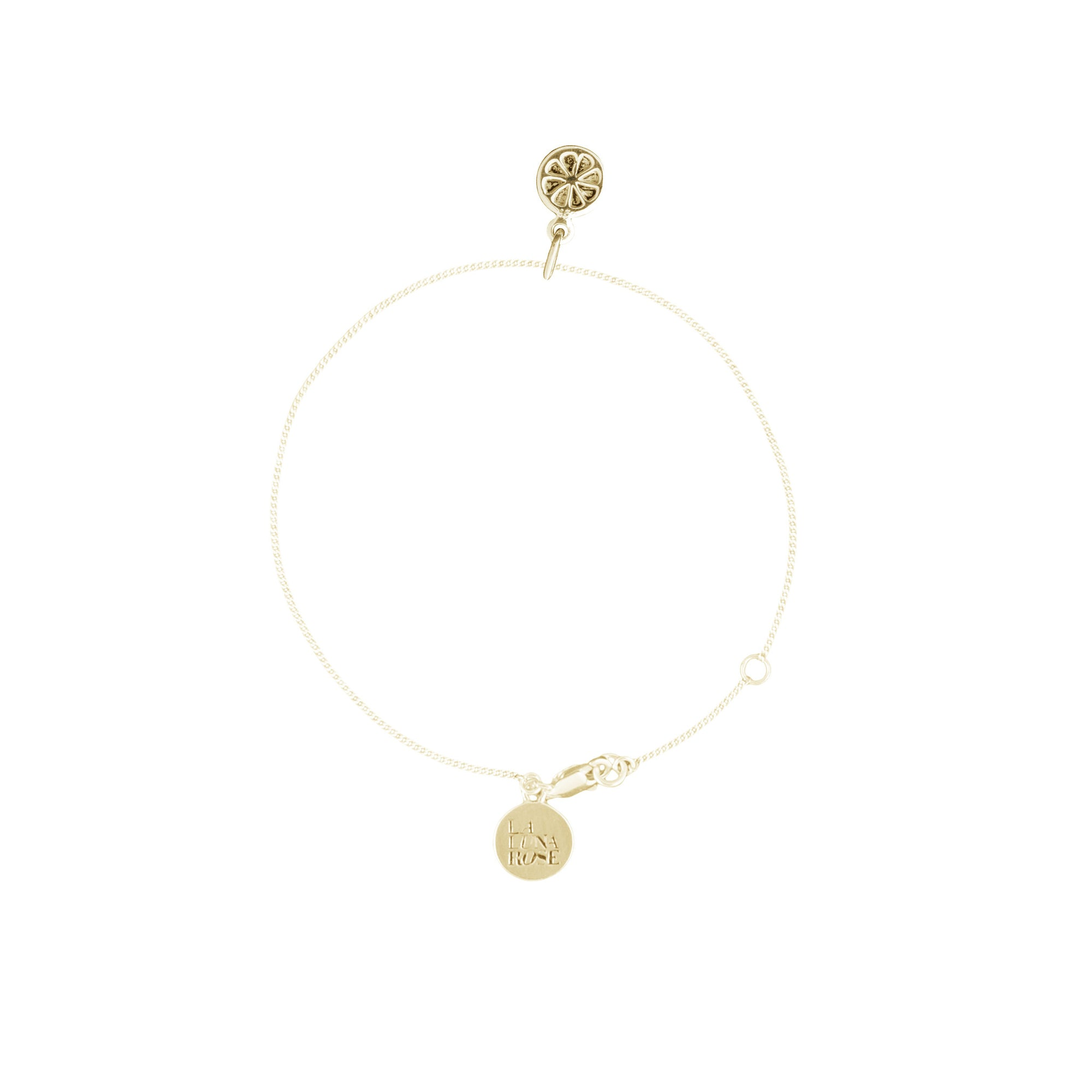Orange you Cute Bracelet (Gold)