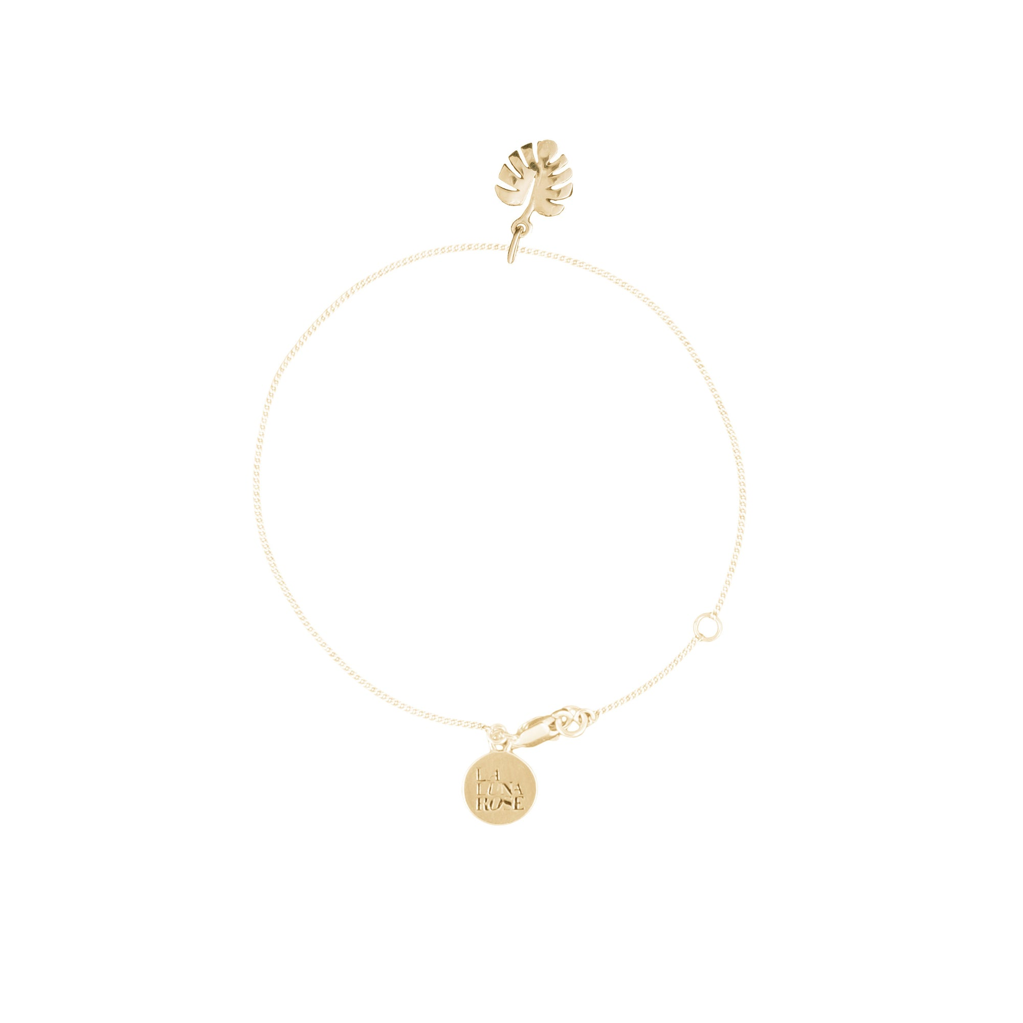Never Leaf Me Bracelet (Gold)