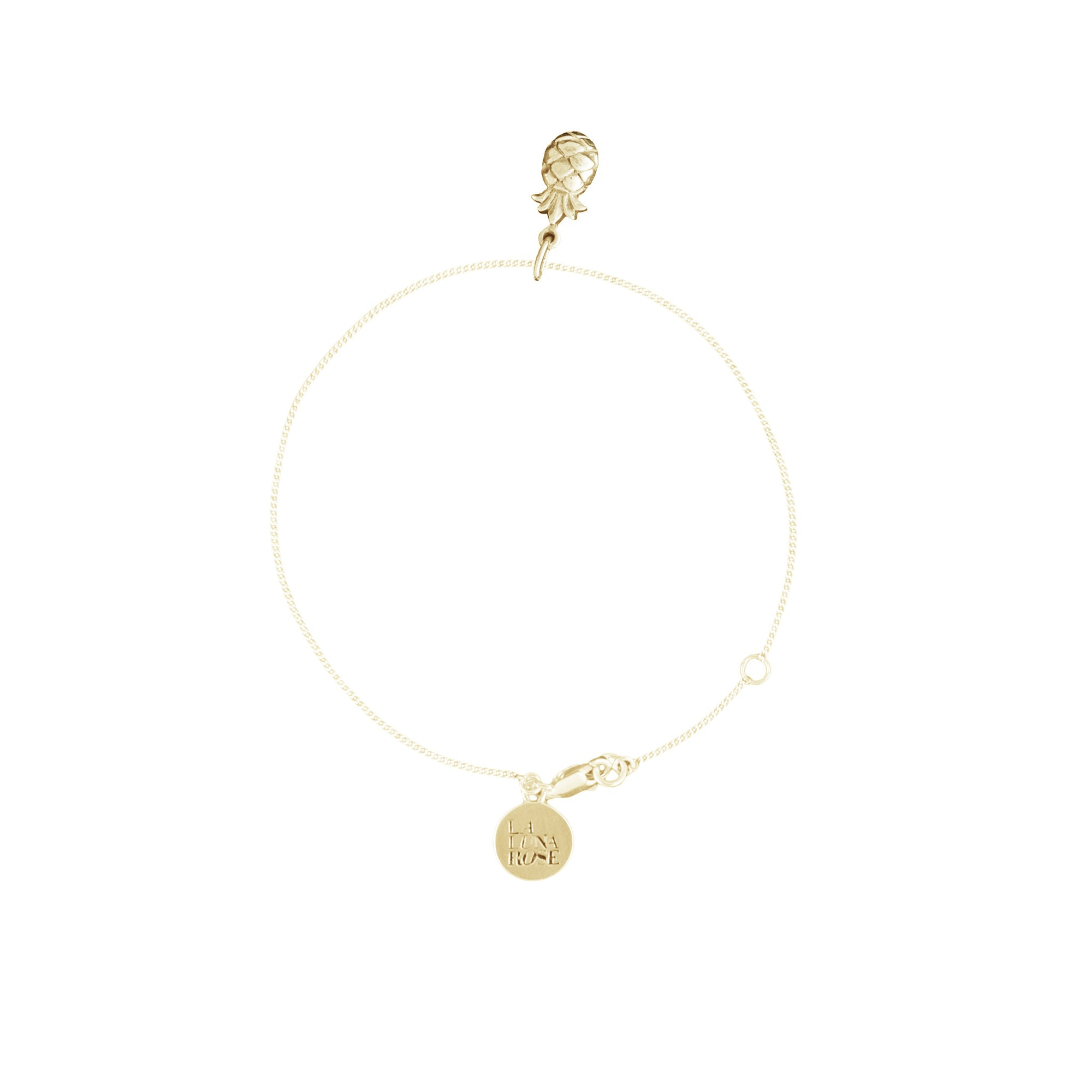 You're a Fine-Apple Bracelet (Gold)