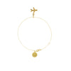Just Plane Adventurous Gold Chain Charm Bracelet