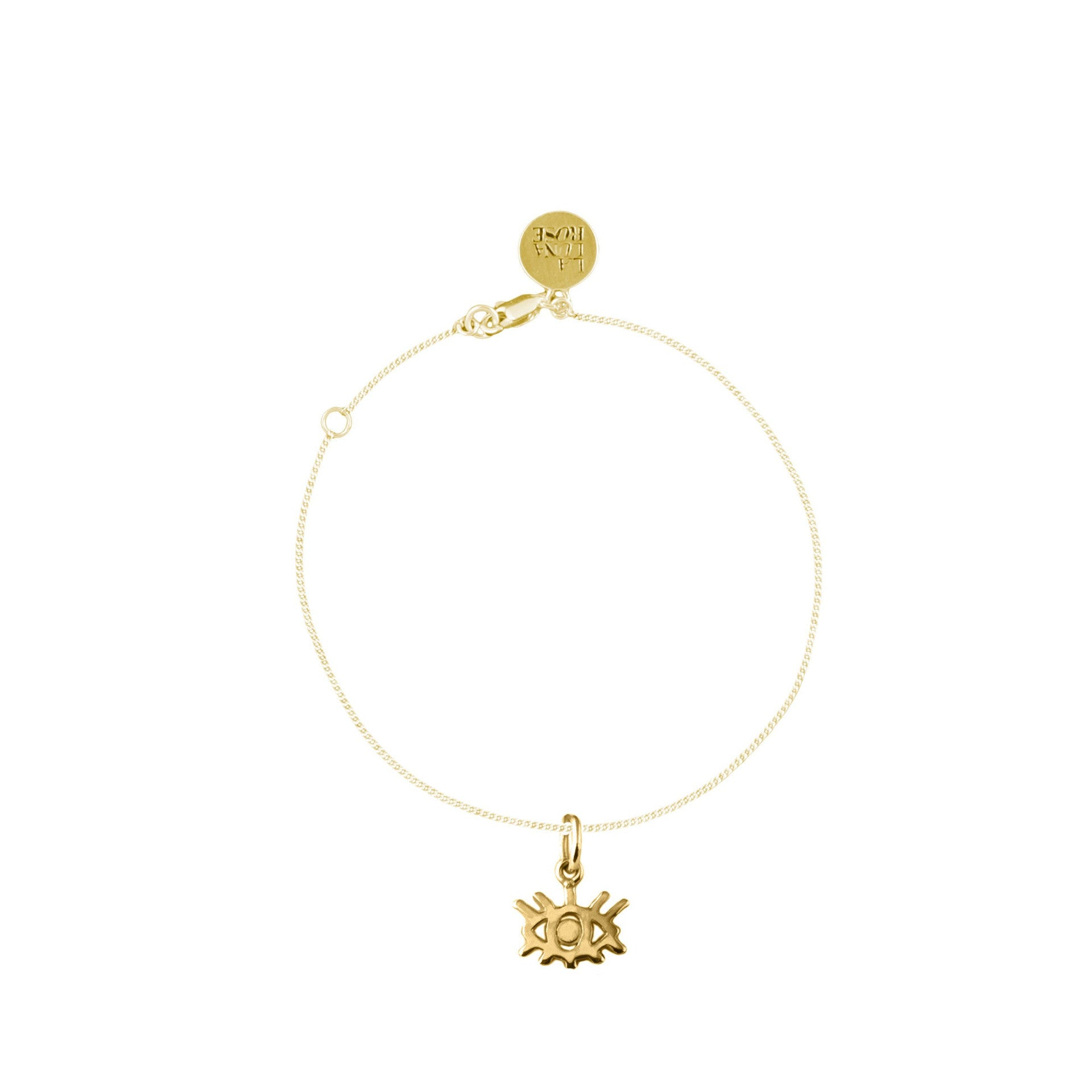 Eye Wish You Were Here Bracelet (Gold)