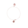 La Luna Rose Jewelry - Never Leaf Me Bracelet - Rose Gold