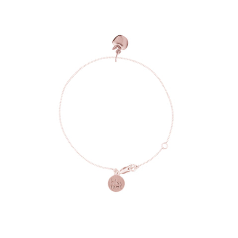 La Luna Rose Jewellery - Apple of My Eye Bracelet Rose Gold