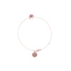 Awestruck in Luck Fortune Cookie Bracelet - Rose Gold