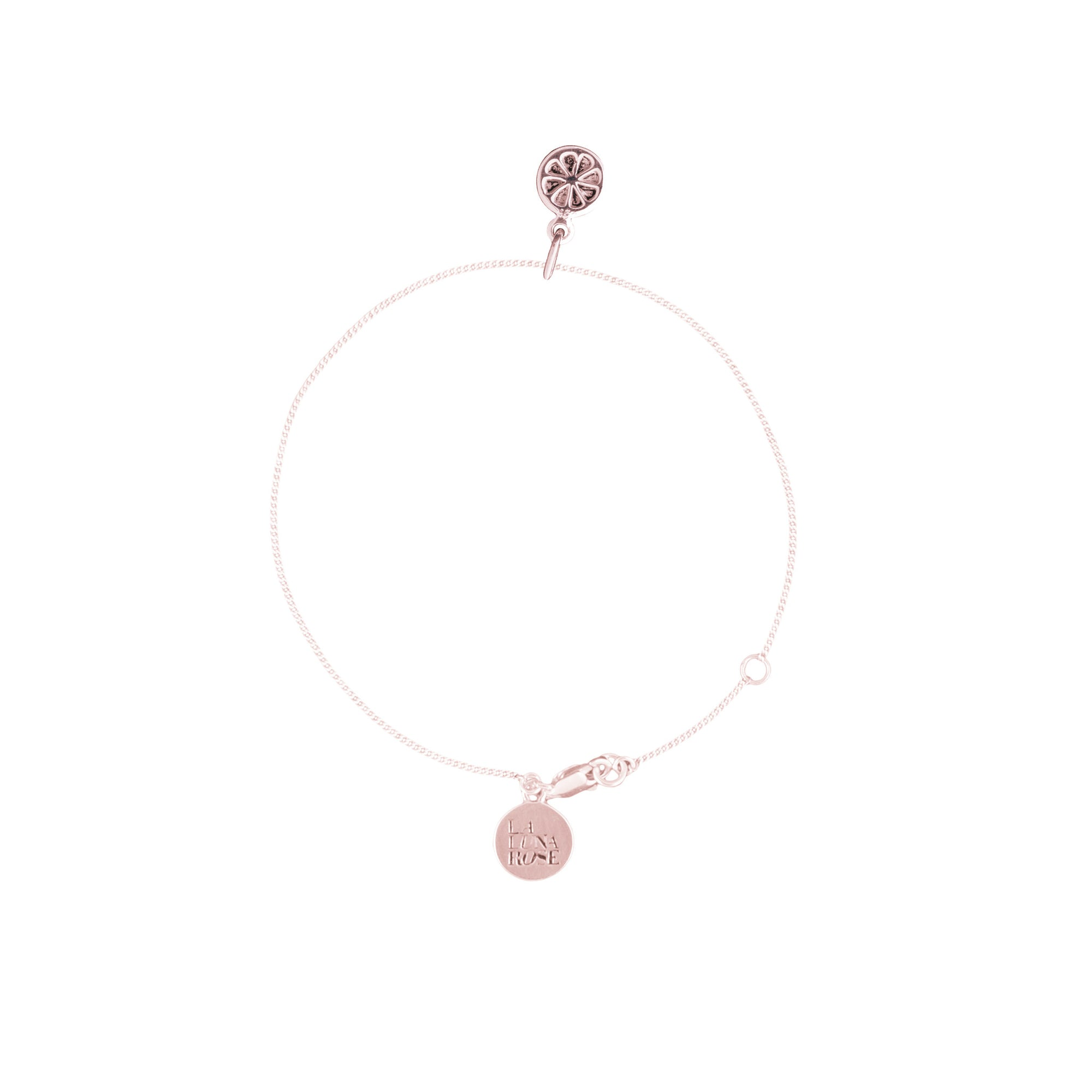 Orange you Cute Bracelet (Rose Gold)