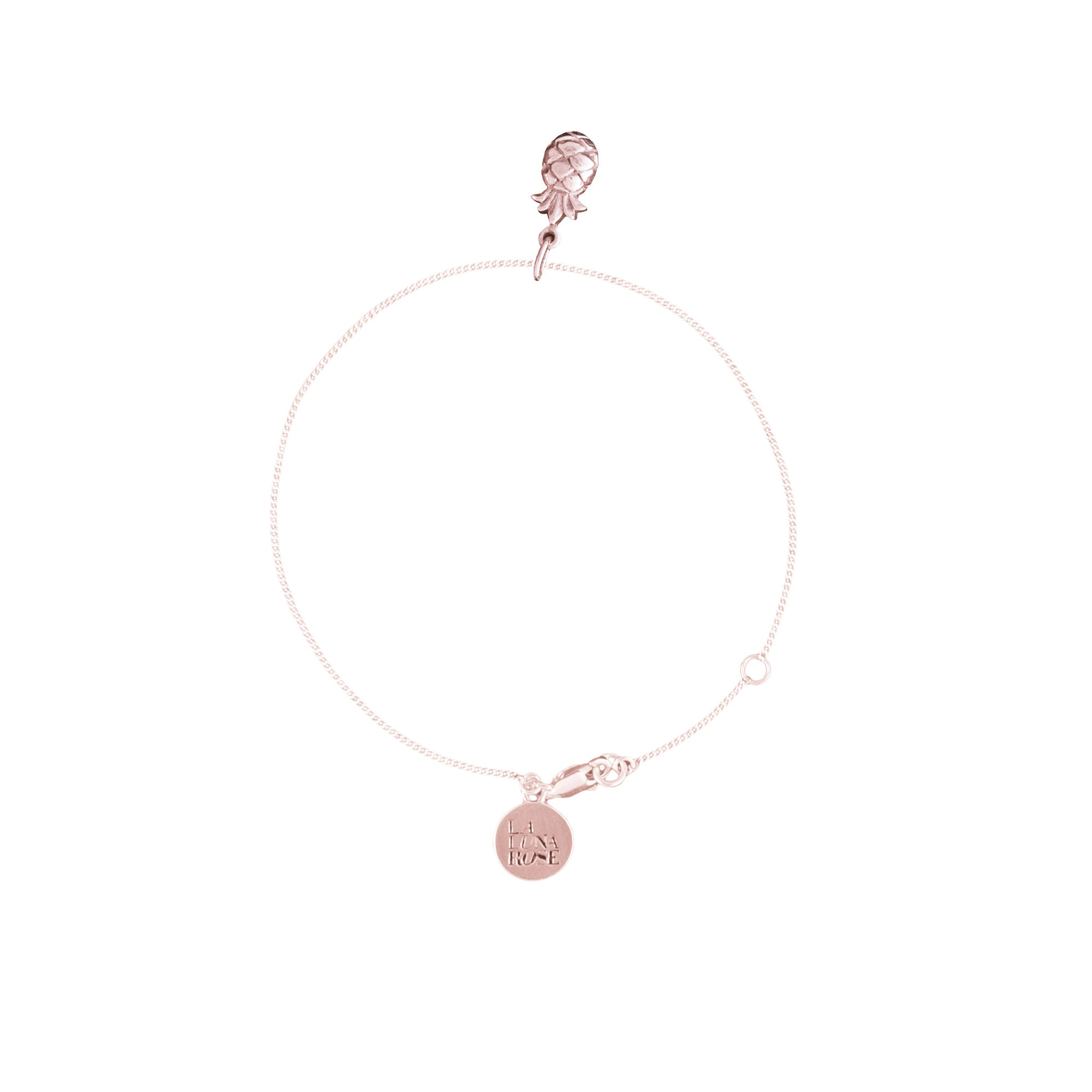 You're a Fine-Apple Bracelet (Rose Gold)
