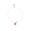 La Luna Rose Wish Upon a Star Char Bracelet - Rose Gold