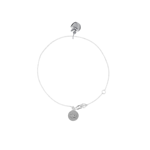 La Luna Rose Jewellery - Apple of My Eye Bracelet - Silver