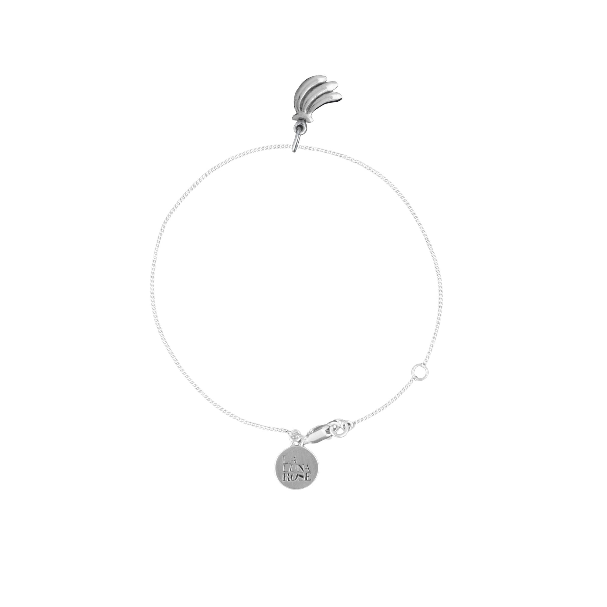 Luna & Rose - You Drive me Bananas Charm - Silver