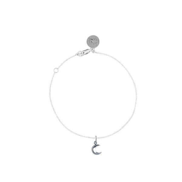 To the Moon and Back Charm Bracelet - Silver