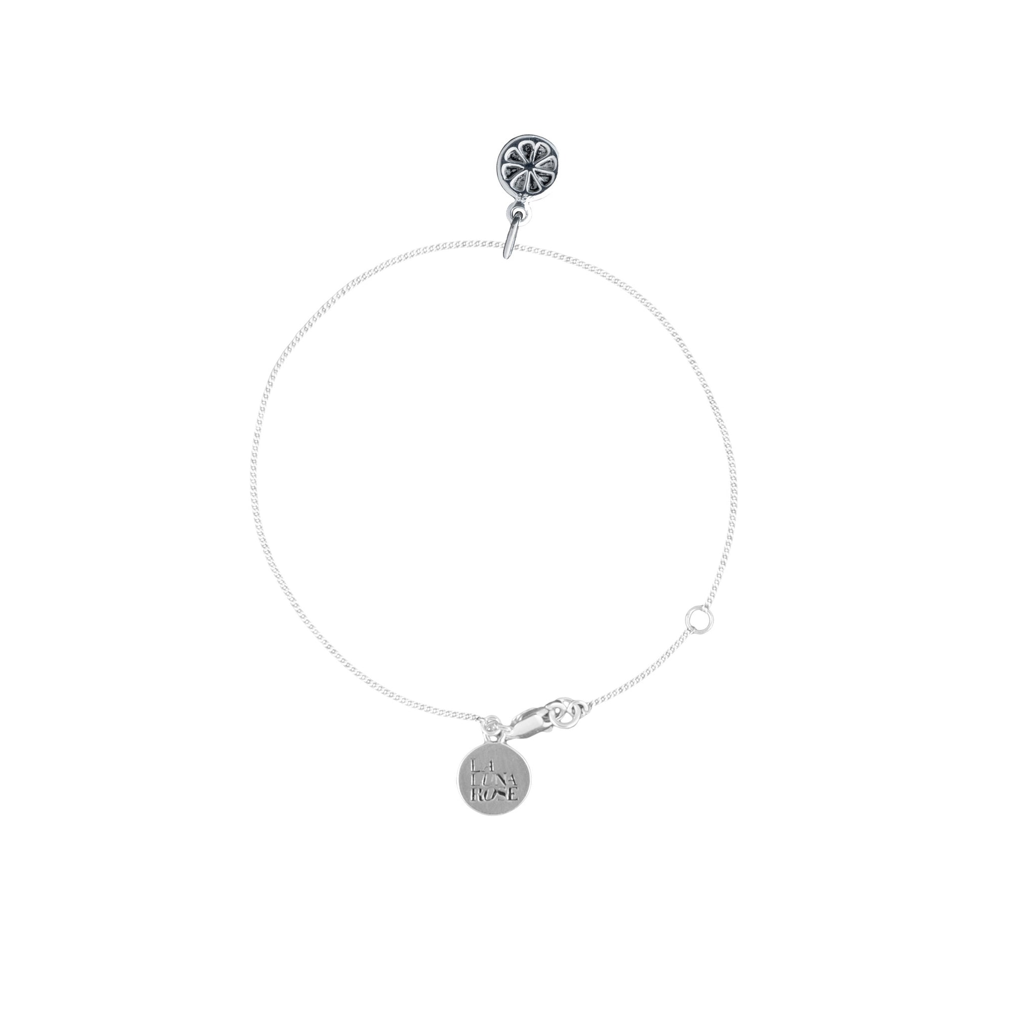 Orange you Cute Bracelet (Silver)