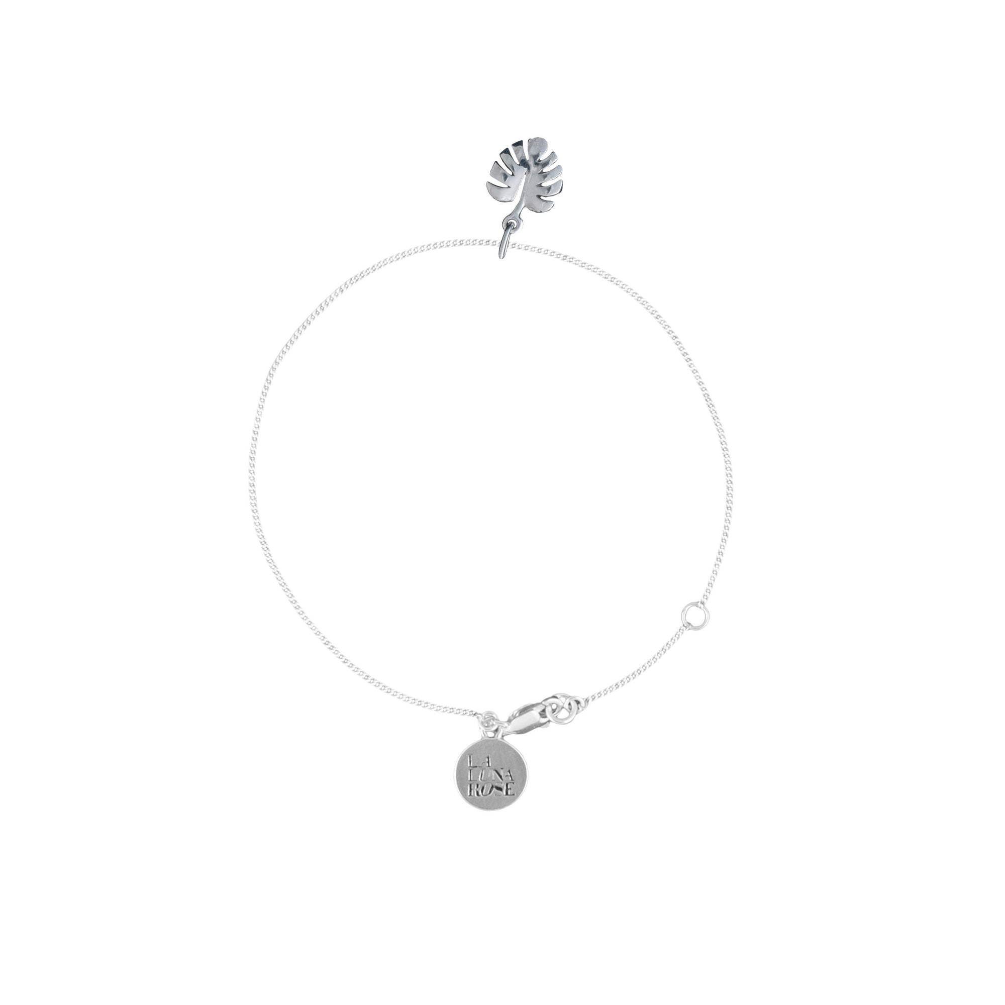 La Luna Rose Jewelry - Never Leaf Me Bracelet - Silver