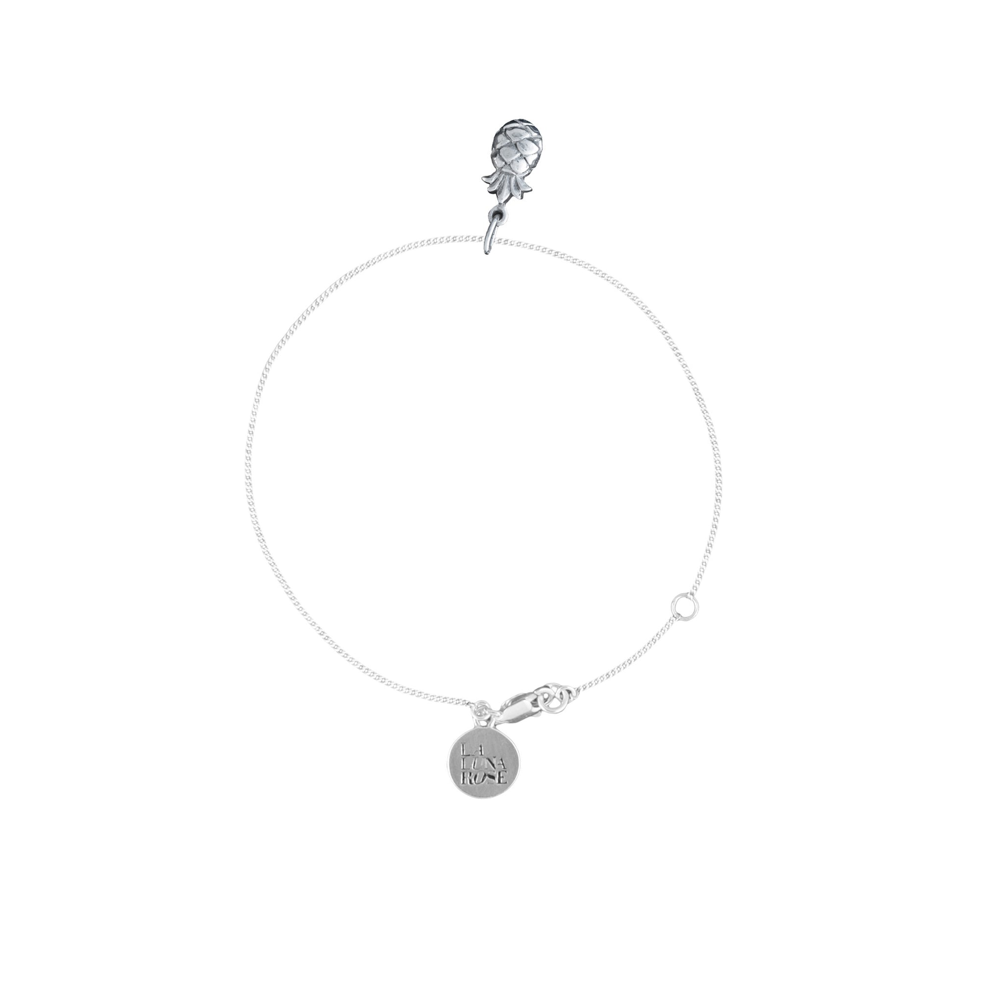 La Luna Rose Jewellery - Pineapple Bracelet Silver