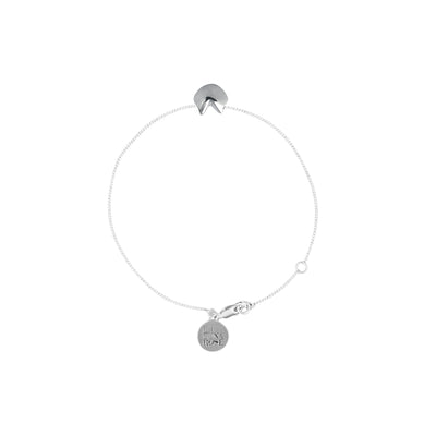 Awestruck in Luck - Fortune Cookie Charm Bracelet